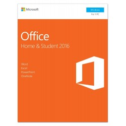 Microsoft Office Home & Student 2016 - Installed