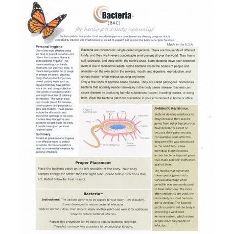 Bacteria (BAC) BioEnergy Patch (10 Pack)
