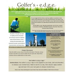 Golfer's e.d.g.e. - BioEnergy Patch (10 Pack)