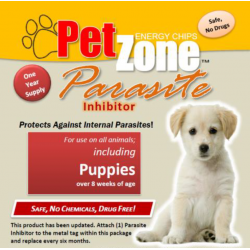 Parasite Inhibitor - PetZone Energy Discs - All Pets