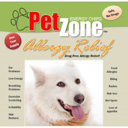 Allergy Relief - PetZone Energy Discs - All Pets