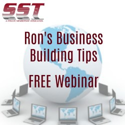 Free Webinar - Ron's Business Building Tips
