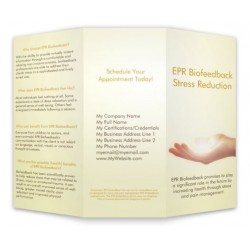 EPR Biofeedback Tri-Fold Brochure - Custom Printed Contact Info