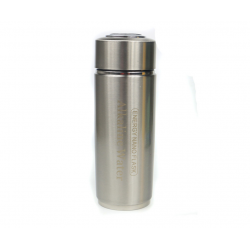 Nano Energy Water Flask - Silver