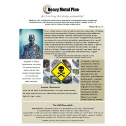Heavy Metal Plus (HM) - BioEnergy Patch (10 Pack)