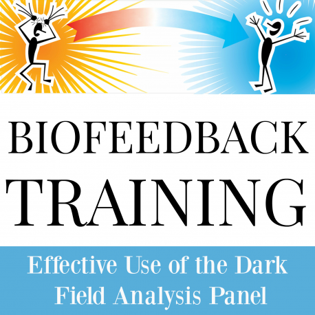 Effective Use of the Dark Field Analysis Panel - Stress and Parasites - USB Flashdrive