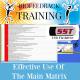 Effective Use of the Main Matrix - USB Flashdrive