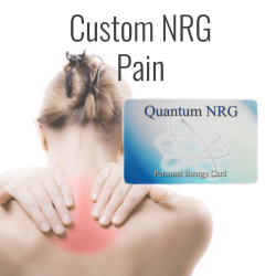 Pain Support - Custom NRG Card