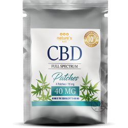 Patches CBD 40 MG – 4 Patches / 10 mg of CBD