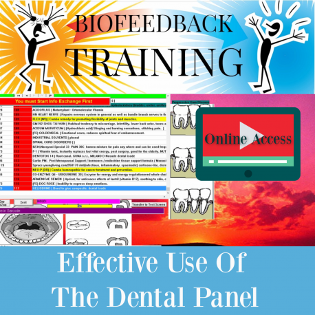 Effective Use of the Dental Panel