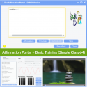 Affirmation Portal + Basic Training (One-Click-Clasp64)