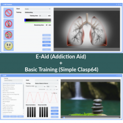 E-Aid (Addiction Aid) + Basic Training (One-Click-Clasp64)