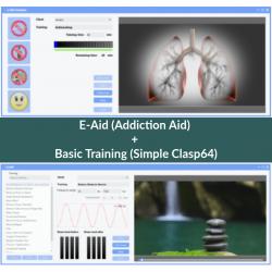 E-Aid (Addiction Aid) + Basic Training (One-Click-Clasp64)