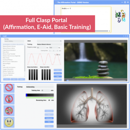 Full Clasp Portal (Affirmation, E-Aid, Basic Training)