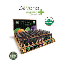 Organic+ Kit 60-Pack w/Frankincense Serrata, Display Stand & 5ml Testers