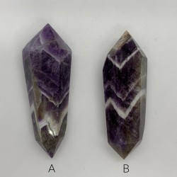 Double Terminated Chevron Amethyst