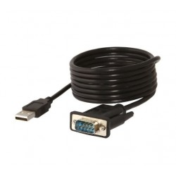 USB 2.0 to Serial (9-Pin) Adapter Cable