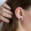 Elite Shungite Stud Earings